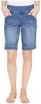 Jag Jeans Ainsley Pull-On Bermuda Comfort Denim in Weathered Blue Women's Shorts