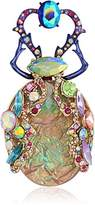 Betsey Johnson Womens Blooming Betsey Colorful Insect Brooches And Pin