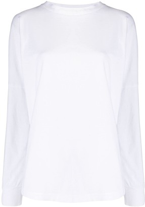 Palm Angels Oversized Cotton Sweatshirt
