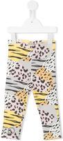 Kenzo printed leggings - kids - Cotton/Spandex/Elastane - 3 mth
