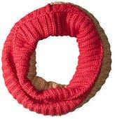 Nine West Women's Ribbed Color Block Neck Warmer