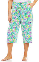 Sleep Sense Plus Succulent Capri Sleep Pants