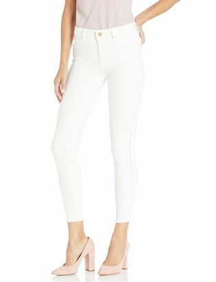 DL1961 Women's Florence Instasculpt Mid Rise Button Fly Skinny Fit Ankle Jean