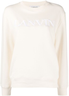 Lanvin Embroidered Logo Sweatshirt
