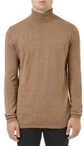 Topman Men's Longline Turtleneck Sweater