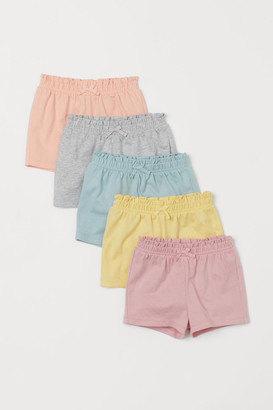 H&M 5-pack Jersey Shorts - Pink