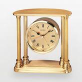 Seiko Gold Tone Alarm Clock - QHE101GL