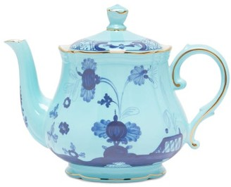 Richard Ginori Oriente Italiano Porcelain Tea Pot - Blue Multi