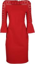 Fendi Geometric Lace Dress