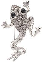 Oscar de la Renta frog brooch