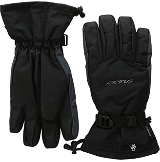 Seirus Heat Wave Accel Glove (Black/Charcoal) Extreme Cold Weather Gloves