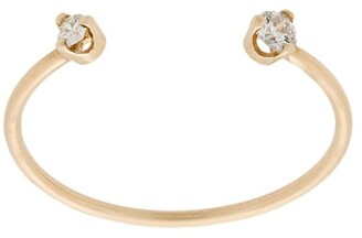Chicco Zoë 14kt yellow gold open diamond ring
