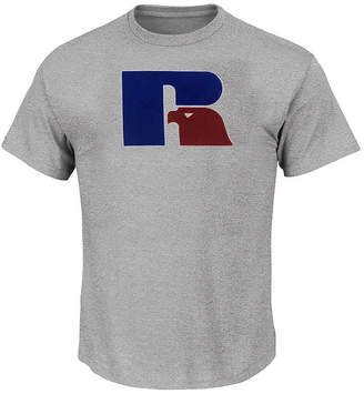 RUSSELL ATHLETICS Russell Athletics-Big and Tall Mens Crew Neck Short Sleeve T-Shirt