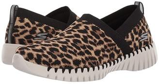 SKECHERS Performance Go Walk Smart - Safari (Leopard) Women's Walking Shoes