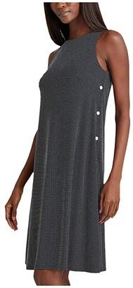 Lauren Ralph Lauren Suzan Dress (Lighthouse Navy/Colonial Cream) Women's Dress