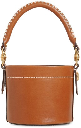 Tory Burch SM MILLER CANTINEE LEATHER BUCKET BAG