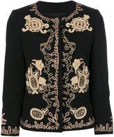 Dondup metallic embroidered jacket