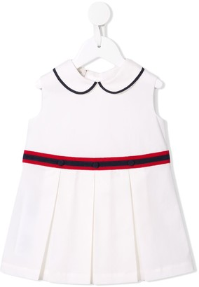 Gucci Kids Pleated Party Dress