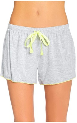 PJ Salvage Dream in Color Sleep Shorts (Heather Grey) Women's Pajama