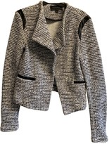 Banana Republic Grey Tweed Jacket for Women