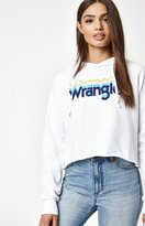 Wrangler x PacSun Cropped Hoodie