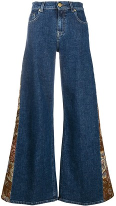 L'Autre Chose High-Rise Wide-Leg Jeans