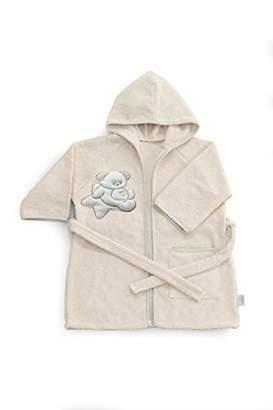 Italbaby Bath Robe Sponge for Newborns 0-6 Months Sweet Ivory - 550 g