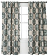 Threshold Medallion Curtain Panel