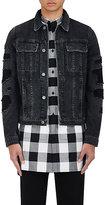 Helmut Lang Men's Cotton Distressed Trucker Jacket