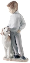 Lladro Collectible Figurine, My Loyal Friend