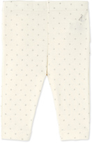 Petit Bateau Baby girls glitter polka dot leggings