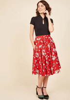 Santa Baby One More Time A-Line Skirt in S