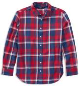 Ralph Lauren Girls' Plaid Flannel Shirt - Big Kid