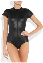 Lisa Marie Fernandez The Farrah glossed swimsuit
