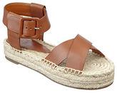 Marc Fisher Vienna Leather Espadrille Sandals