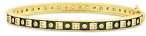 Freida Rothman Studded Bangle Bracelet
