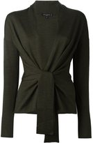 Etro knot V-neck cardigan - women - Wool - 42