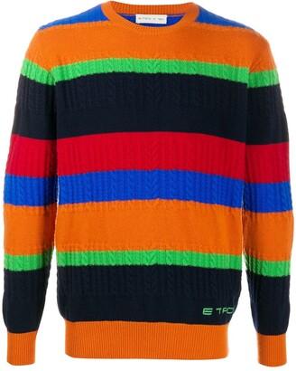 Etro Striped Wool Jumper