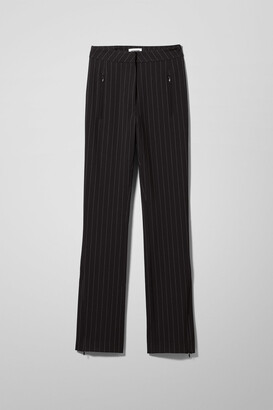 Weekday Alecia Trousers - Black