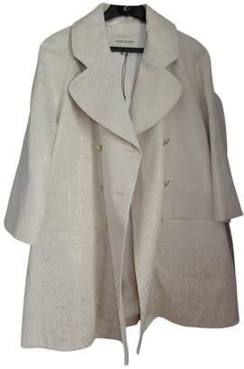 River Island Ecru Trench Coat for Women