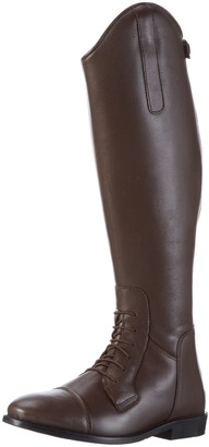 HKM Riding Boots Spain Soft Leather Short/Regular Fitting Brown Brown Size:36 (EU)
