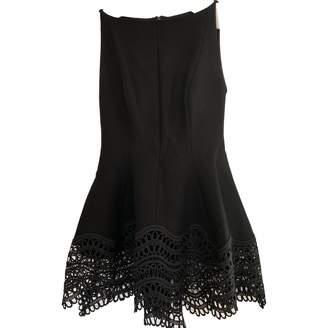 Lela Rose Black Wool Dress for Women
