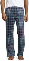 Derek Rose Plaid Pajama Pants, Burgundy/Navy