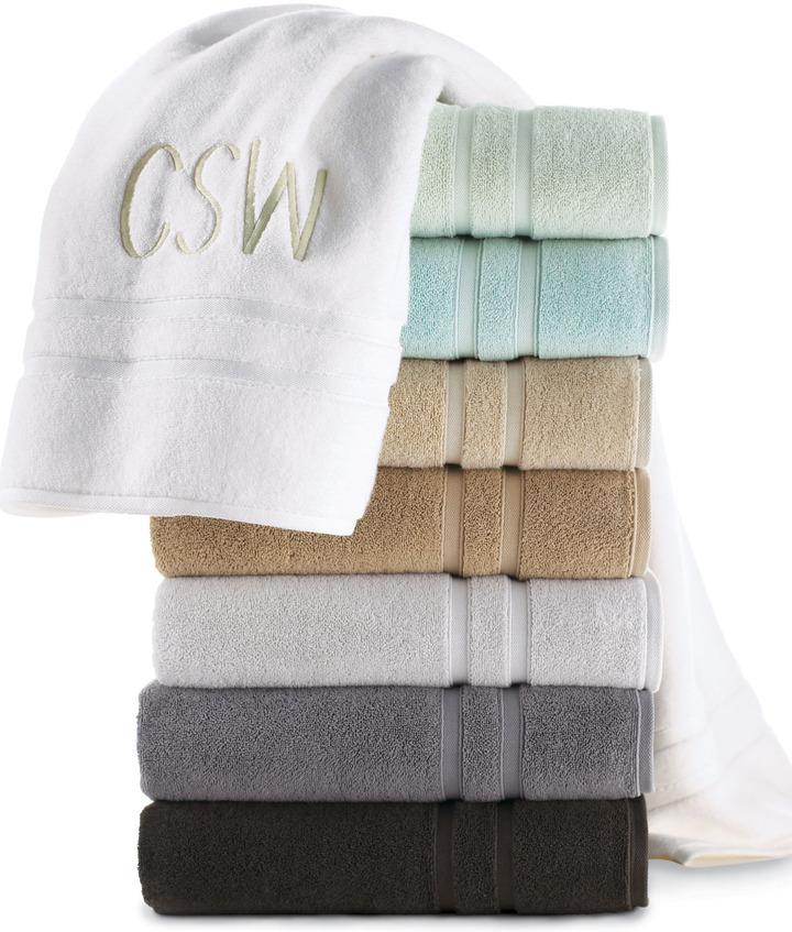 "Horchow Waterworks Studio ""Double Dobby"" Towels"