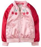 Gymboree Cherry Bomber Jacket