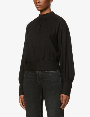 The Odderside Glory open-back woven shirt