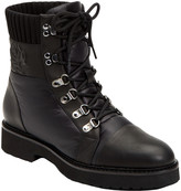 Taryn Rose Viktoria Weatherproof Leather Combat Boot