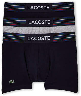 Lacoste 3-Pack Stretch Boxer Brief