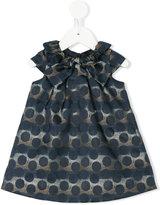 Lili Gaufrette polka dot dress - kids - Polyester/Acetate - 9 mth