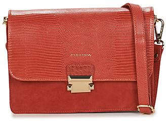 Fuchsia F9922 women's Shoulder Bag in Orange